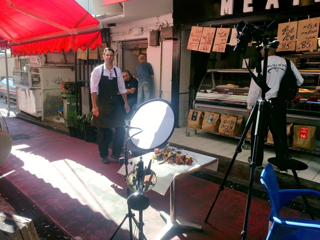 איך לצלם מזון, שמש חזקה, מרכך, מיט מרקט