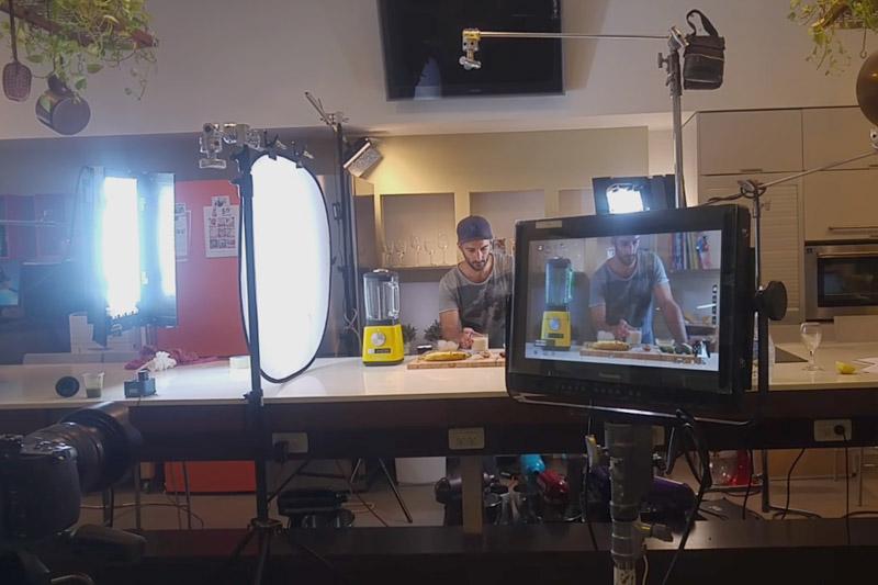 סרטוני וידאו מזון