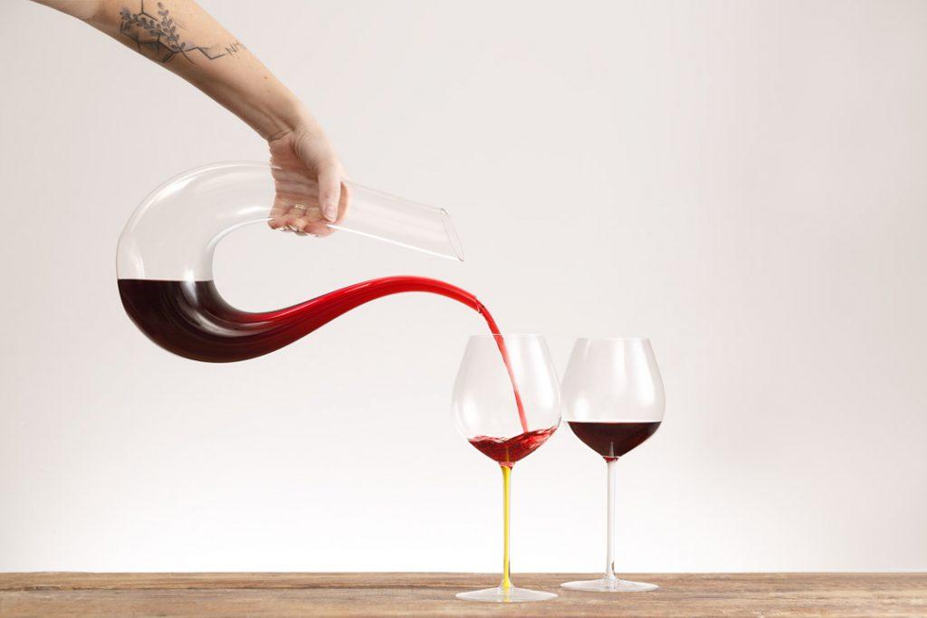 צילום כוסות יין